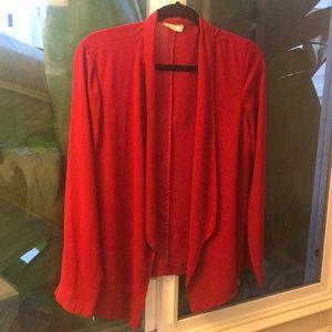 Lush blouse blazer size small